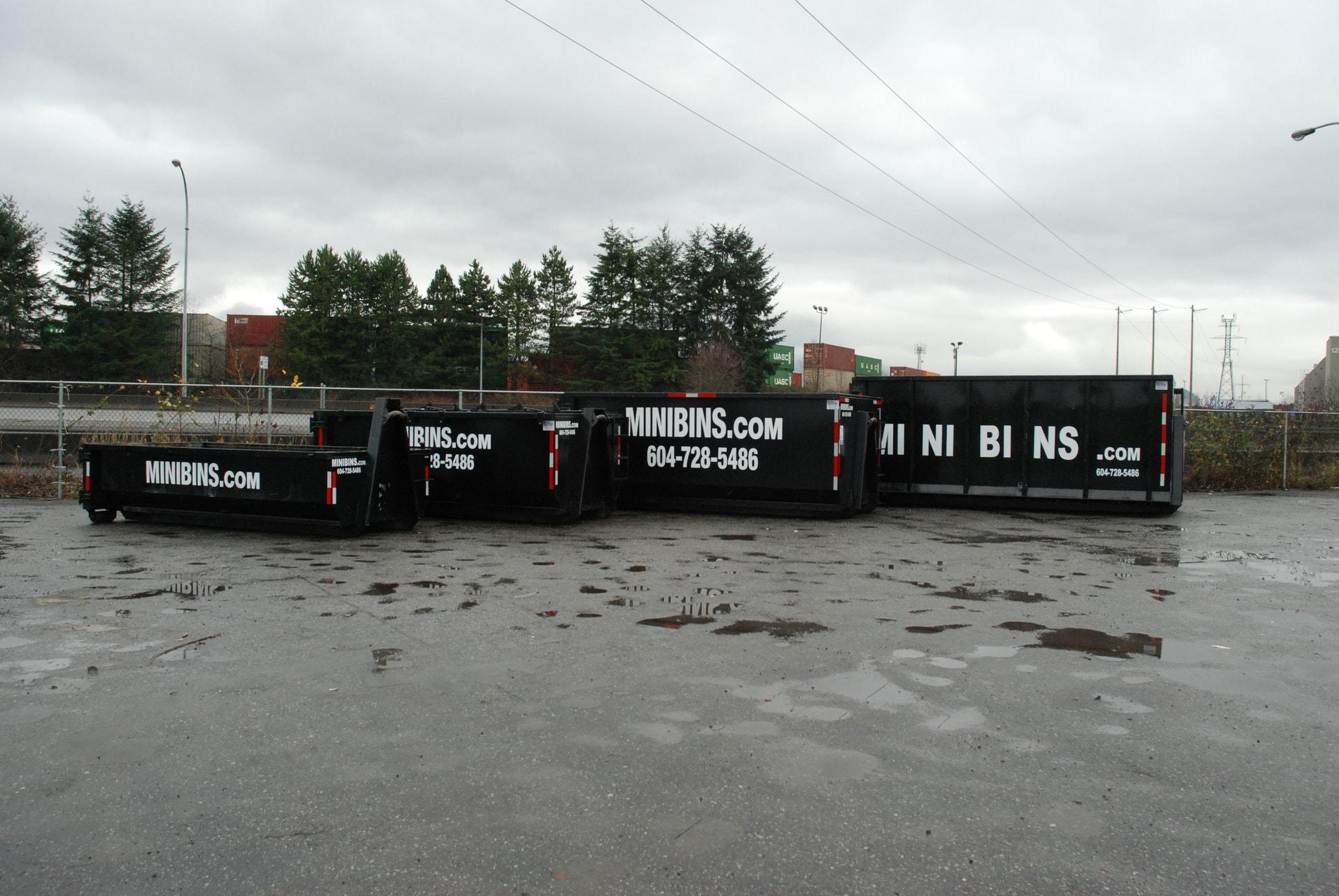 Minibins Dumpster Rental