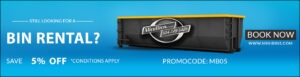 Bin Rental Promo