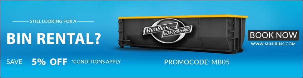 cheap dumpster rental Mini Bins Disposal promo deals