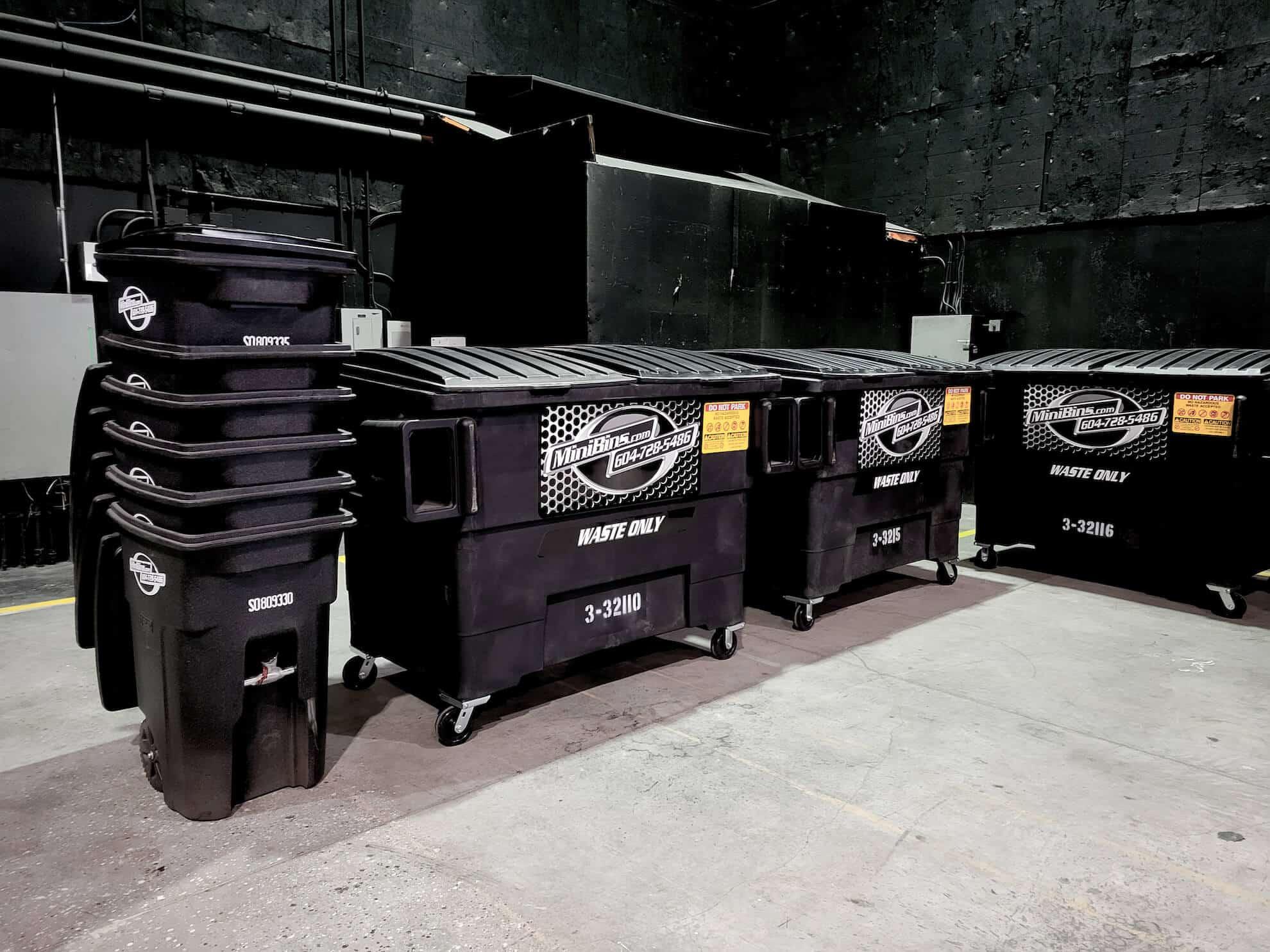 dumpster rentals Minibins vancouver